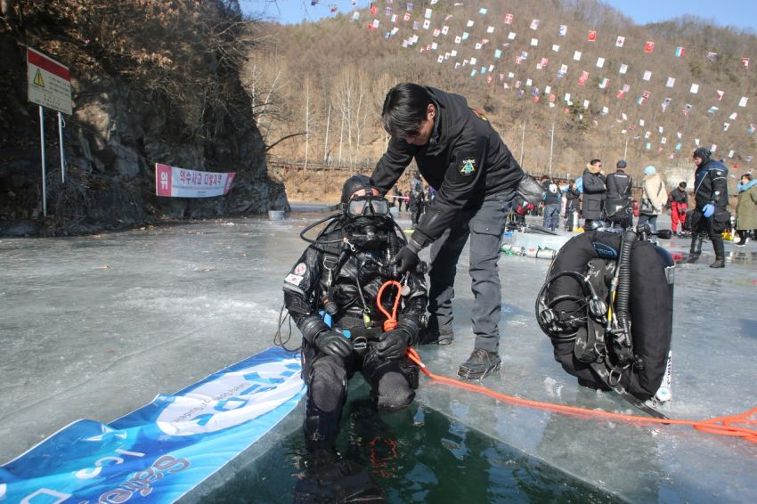PSAI Korea Ice Diving 2019